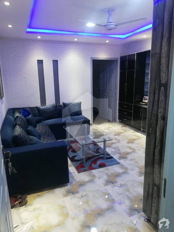 Johar Town Block H3  Flat For Sale Full English Style Furnished