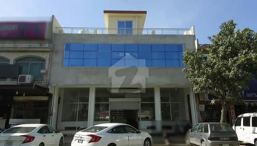 Brand New 3 Story Plaza For Sale In G-9/4 Islamabad