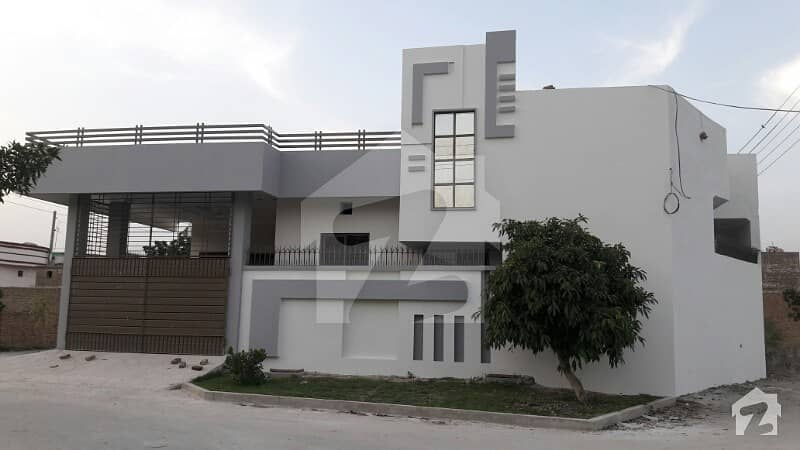 7 Marla 3 Side Corner Beautiful House Is Available For Sale