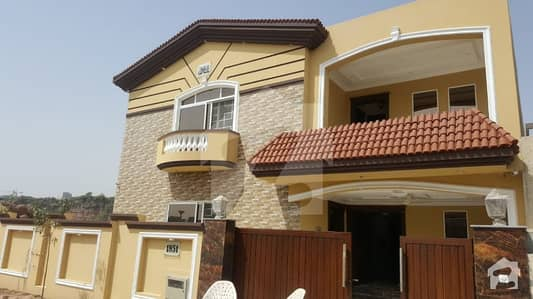 14 Marla Brand New Double Unit Corner House For Sale In Bahria Town