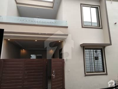 5 Marla Brand New Double Story House For Sale  Accessories    Gm Cable Master Fitting  Every Room Air Ventilation  Drawing Room With Attached Wash Room  2 Kitchens   2 TV Lounge    Big Car Porch   Beautiful 3d Tiles Floor   Electricity Sui Gas Sewerage In