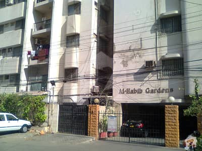 Clifton Block 9 Al Habib Garden Apartment For Sale
