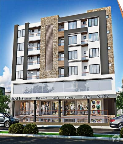 1 Bed Flat At Very Reasonable Price At Gulberg Islamabad Great Time To Invest