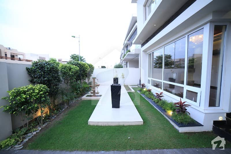 DHA Lahore One Kanal Brand New House with 6 Bedrooms Near to Park