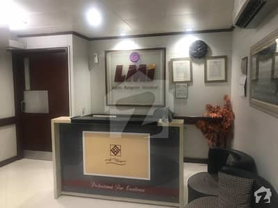 1200 Sq Ft Fully Furnished Office For  Rent In Idol Location Of Clifton