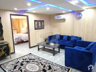 Brand New Fully Luxury Furnished Flat Is Available For Rent In Bahria Town Sector C