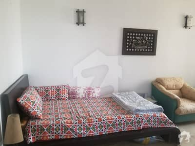 Furnished Apartment Is Available For Rent In Clifton Block 1