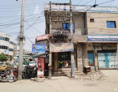 2,000 Square Feet Corner Shops With Flat For Sale AL Rehman Complex