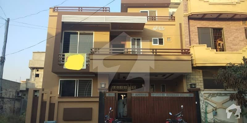 30 X 60 House For Sale In Jinnah Gardens Brand New Built Marble Flooring 50 Wide Road  Double Unit