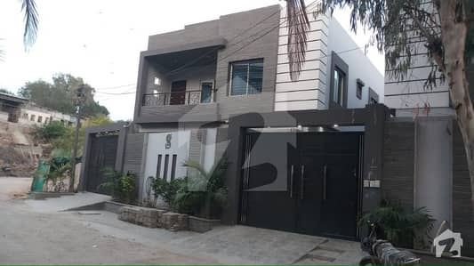 200 Sq Yards Town House Back Side Hill Park Hospital 5 Bedrooms D/D With Basement And 1 Car Parking  Inside