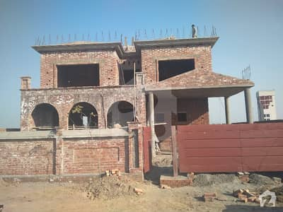 7 Bed 8 Bath Basement 70 Feet A Construction Grey Structured House For Sale
