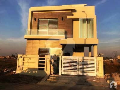 5marla Brand New Spanish Royal Place Out Class Modern Luxury Bungalow For Rent In DHA 9 Town