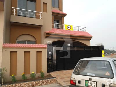 10 Marla Double Unit Brand New House For Sale In Lda Avenue