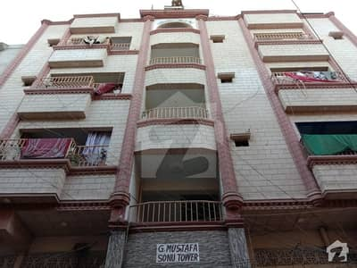 2nd Floor Flat Is Available For Sale In Jinnah Apartment