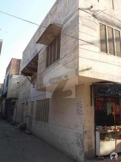 4 Marla Corner House For Sale In Ghulam Muhammad Abad Faisalabad