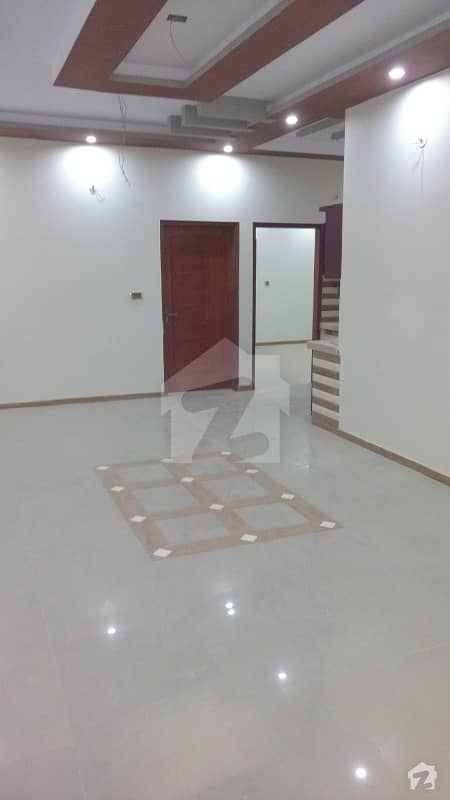 First Floor New Portion With 3 Bed Dd 4 Attached Baths Vip Location Next To Main Road North Karachi Sector 11 A