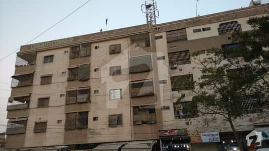 Adeem Avenue  Apartment 3rd Floor 2 Bed D/D Well Maintained Load Shedding Free 24 Hours Sweet Water Kda Leased File Best For Investment Best For Living North Karachi Sector 11 A