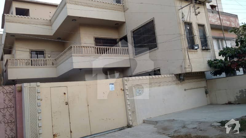 House Ground Plus 2 West Open Next To Corner Extra Land Well Maintained Marble Flooring Main Market Location North Karachi 11 A