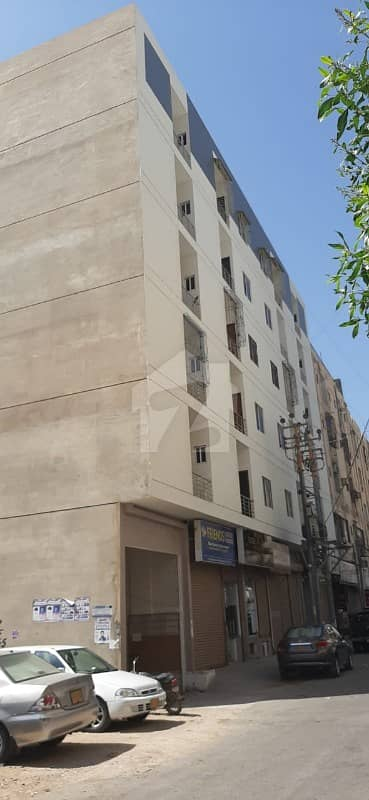 Brand New Flat For Sale 3 Bed DD In Rahat Commercial Phase 6 Next To Bungalow Facing