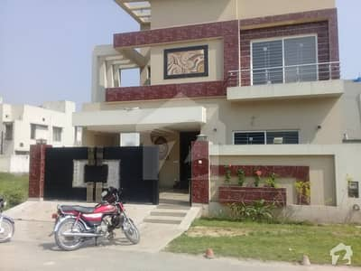 Superb 10 Marla Outclass Brand New Luxury Bungalow For Sale Near Air Port Barki Road Phase 8