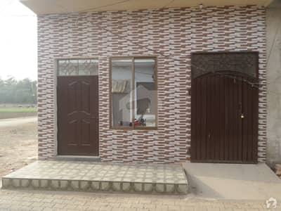 Double Storey Beautiful House For Sale In Ayub Park Okara