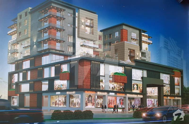 Shops For Sale On Ground Floor At Low Price In Serene Heights
