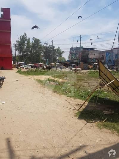 10 marla corner commercial plot is available china chowk pasror road