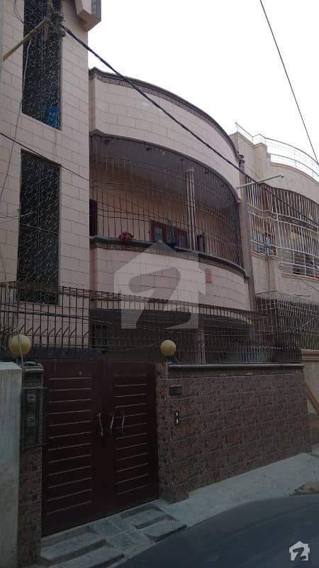 Ground + 2 Marble Flooring 2 Bed Drawing Tv Lounge With Attach Bath Each Floor Luxury House