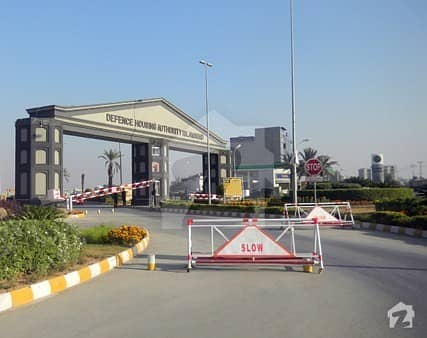 Boulevard Corner 4 Marla Plot For Sale In Dha Valley Sun Flower Block