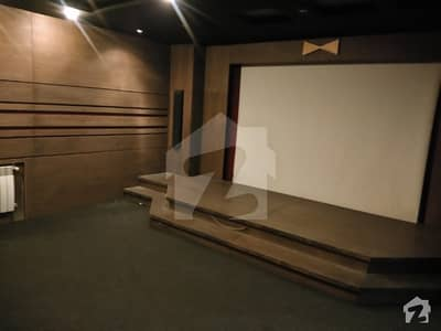 Dha Phase 4 1 Kanal Stylish Bungalow With Home Theater 7 Bedroom For Rent