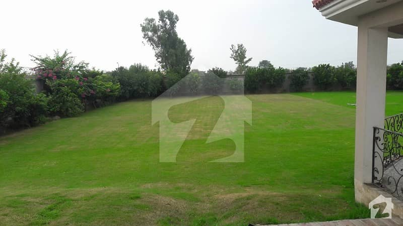 08 Kanal Farm House Plot For Rent In Main Bedian Raod Lahore Cantt
