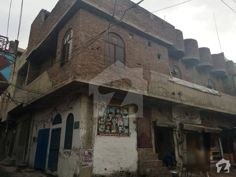 5 Marla House With 5 Shops For Sale