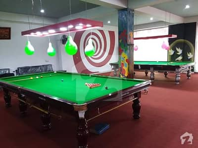 Brand new snooker club in kanal commercial hall ready at prime location