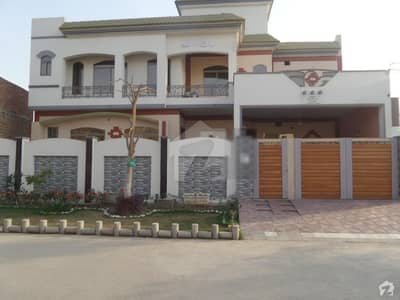 Double Story Beautiful Bungalow For Sale At Jawad Avenue Okara