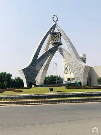 Park Facing 10 Marla Residential Plot For Sale In Overseas B Extension Block Bahria Town Lahore