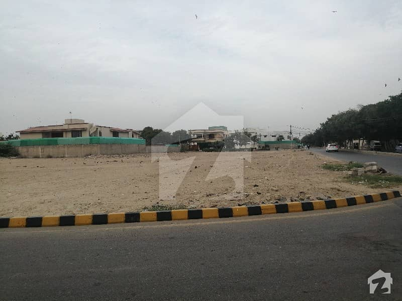 100 Sq Yd Plot Is For Sale In Dha Phase Vii Ext Khayaban E Hussain Shaheed