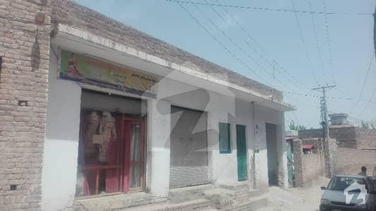 18 Marla House With Shops In Usmania Colony Warsak Road Peshawar