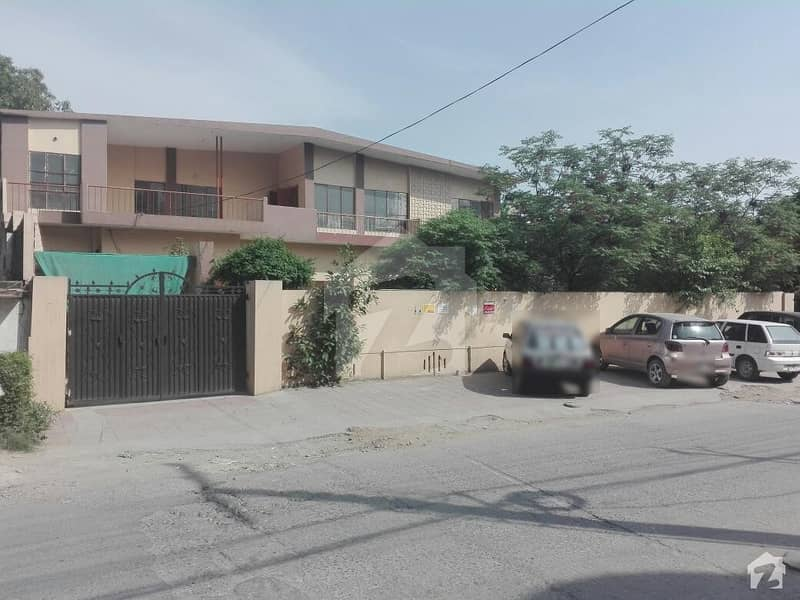 Double Storey Semi Commercial House Is Available For Sale