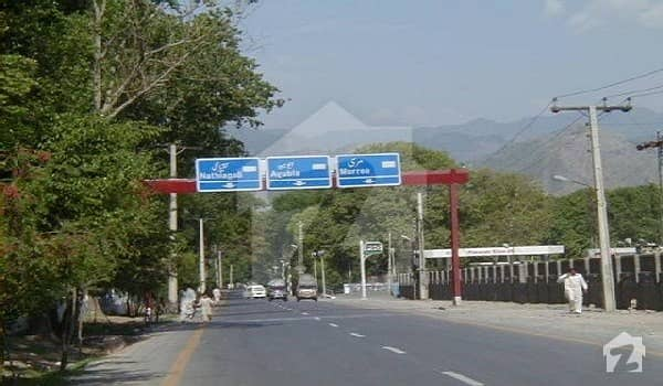 5 Kanal  Commercial Plot For Sale - Muree City Main Suny Bank Mall Road Murree