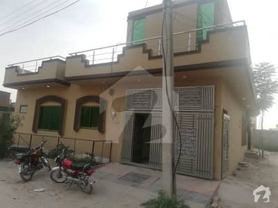 5 Marla Brand New Single Storey House For Sale In Wakeel Colony Rawalpindi