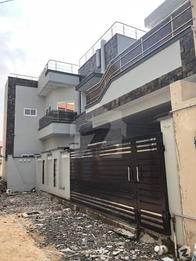 House For Sale In Out Class Construction At Habibullah Colony Wide Street At 250 Lac