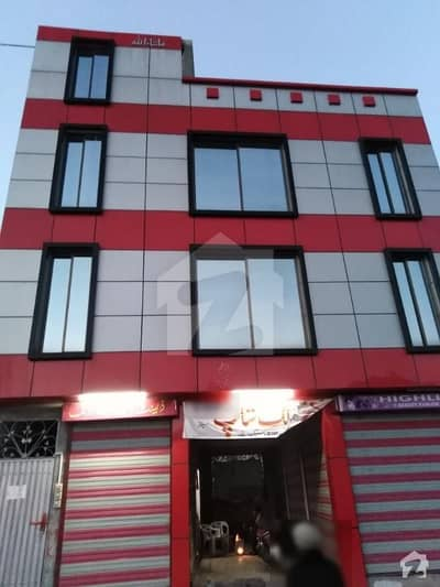 6 Marla Plaza For Sale At Supply Abbottabad With Six Shops And Three Residential