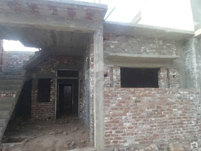 4 Marla House Structure With Coulmns Beams Solid Construction  Is Available For Sale