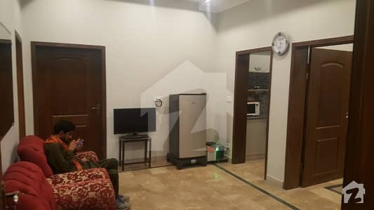 Furnished Apartment For Rent Indepandent Totely Real Pix Near Shouktkhanam