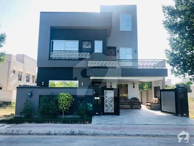 Brand New Double Unit Facing Park 10 Marla Spectacular House Is For  Sale