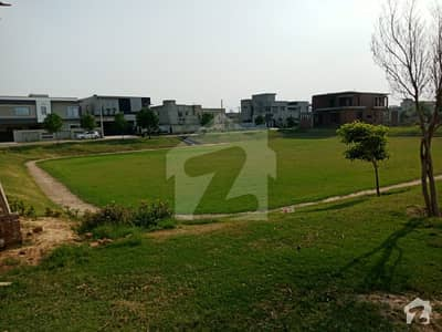 Near Park Kanal Front 17 Marla Plot Is Available For Sale