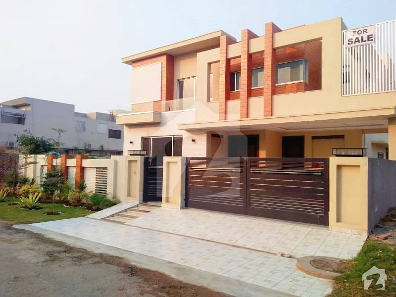 1 Kanal Brand New Facing Park Beautiful 6 Beds Bungalow In Top Location