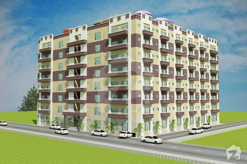 Invest Near To Islamabad Blessing Tower H13 Flat For Sale