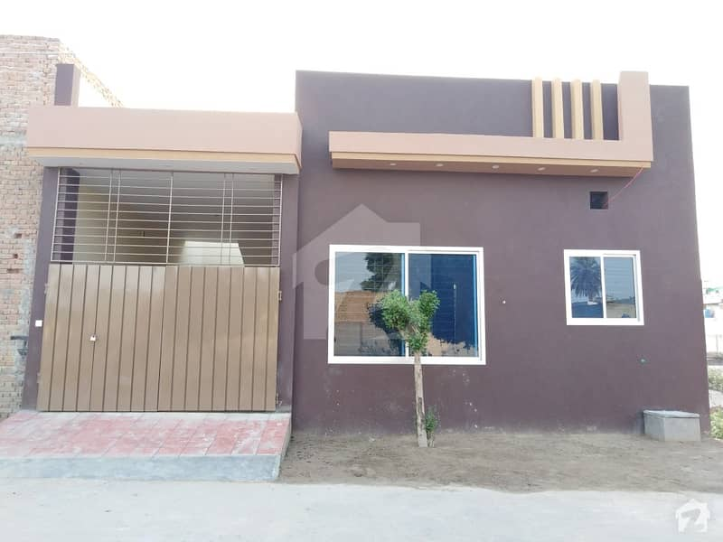 3. 5 Marla Single Storey House For Sale