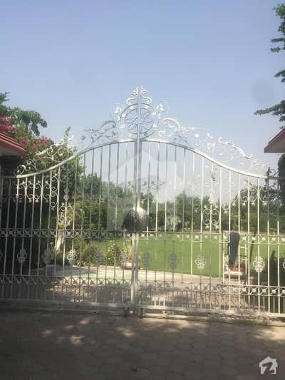 Beautiful Lush Green Farm House For Rent At Raiwind Road